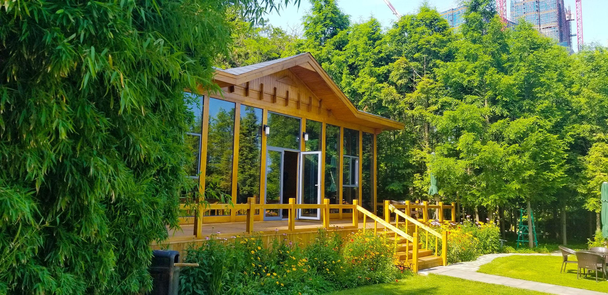 大连、木屋、木房子 、木结构